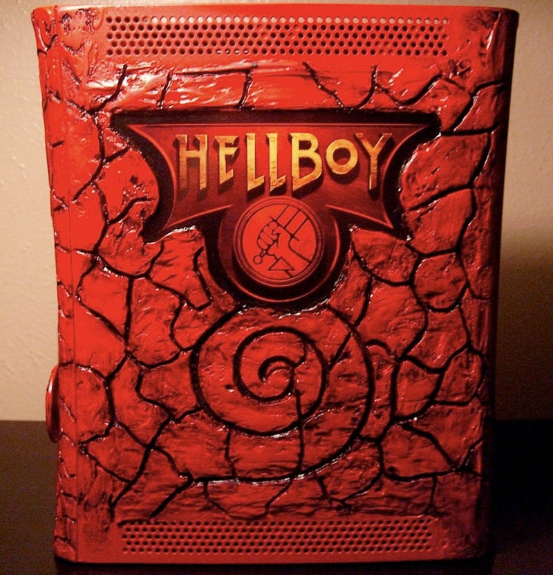 Hellboy Xbox 360 Mod Is Very, Very Red