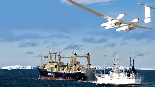 Sea Shepherd Now Using Drones To Hunt Japanese Whalers