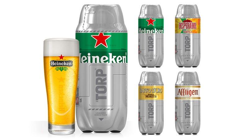 Heineken's Countertop Sub Chills Beer Colder Than Your Fridge Can