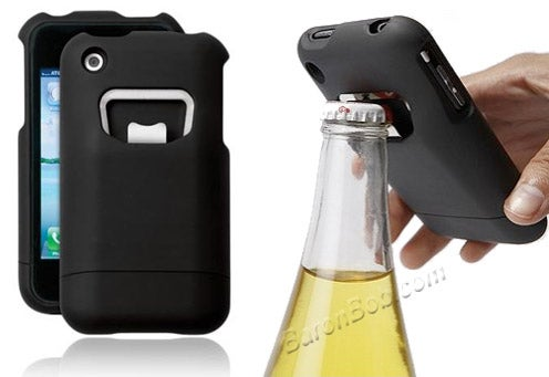 An iPhone Case That Opens Beer Bottles Too