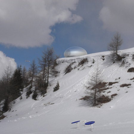 Alpine Capsule Is Probably Aliens' Favorite Refuge on Earth