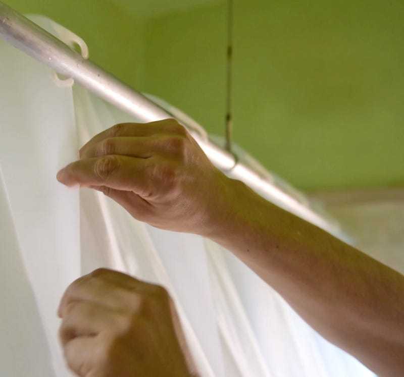 Self-Expanding Curtain Makes Your Shower Feel Like a Spacious Luxury Spa