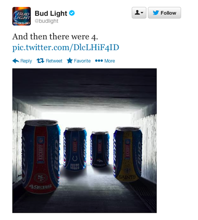 Budweiser Sends Really Dumb Tweet In Branding Exercise Gone Wrong