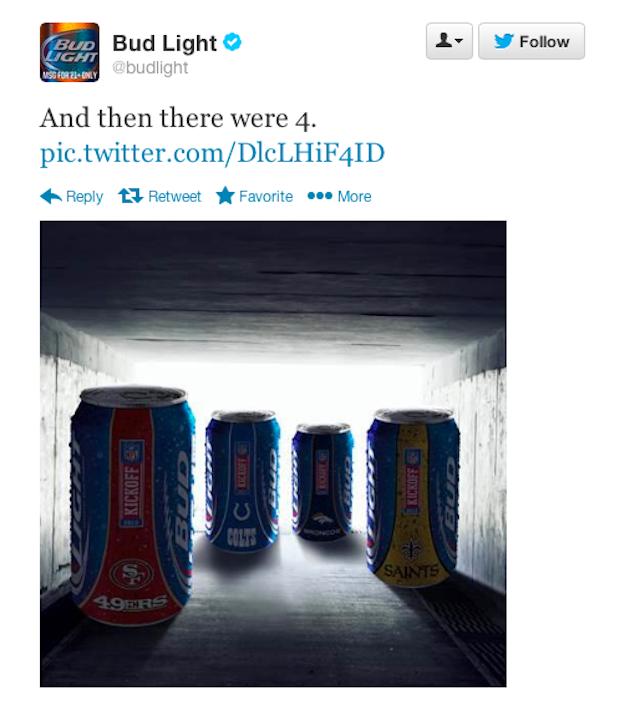 Budweiser Sends Really Dumb Tweet In Branding Exercise Gone Wrong