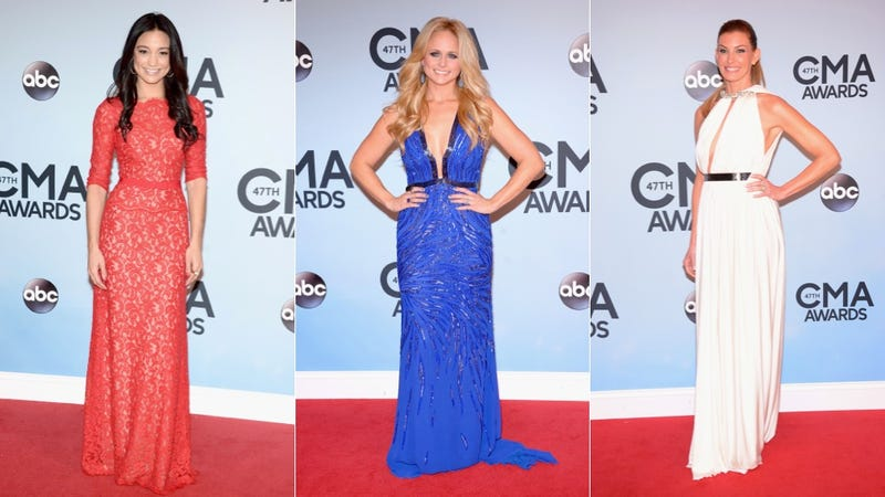 Sparkles, Slinky Dresses and Big Hair at the CMA Awards