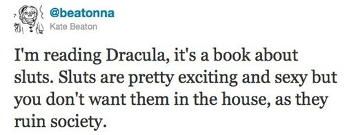 Dracula: a novel of hot Victorian sluts