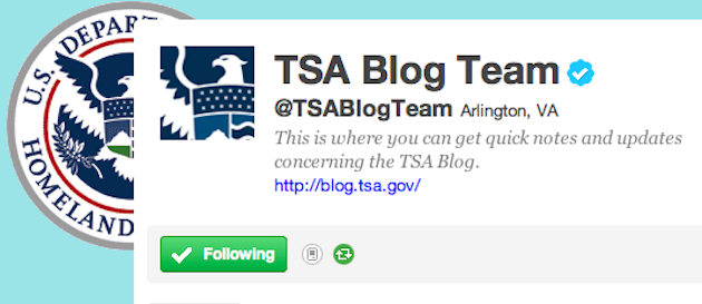 The TSA Needs to Opt Out of Tweeting