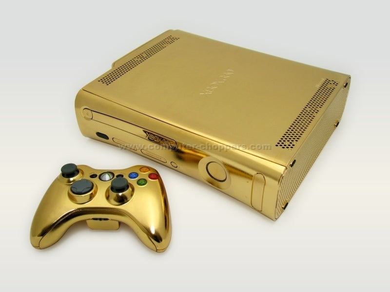 Would You Like A Gold-Dipped Xbox 360?