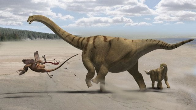 Thunder-thighed dinosaur had the most powerful kick ever