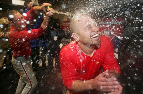 Shane Victorino's Herbal Essences Commercial