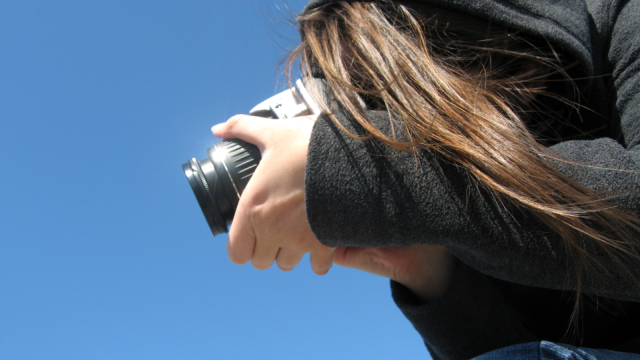 Shoot the Blue Sky to Check for Sensor Issues on a DSLR Camera