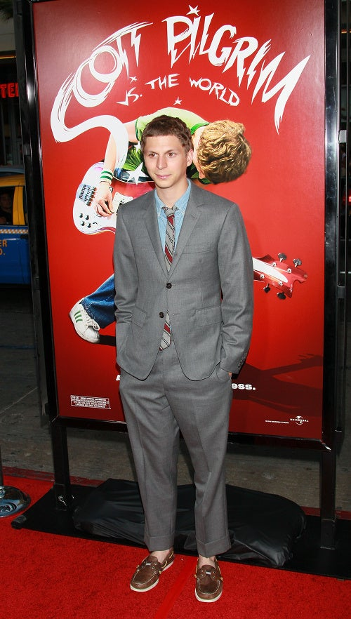 Schwartzman's Stache, Cera's Pants And Other Puzzling Looks From The Pilgrim Premiere