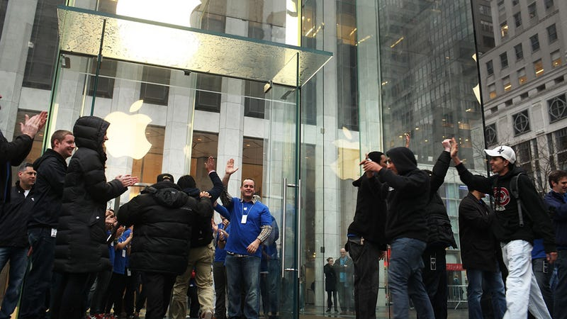 Sitting in Line for an iPhone Has Somehow Gotten Even Sadder