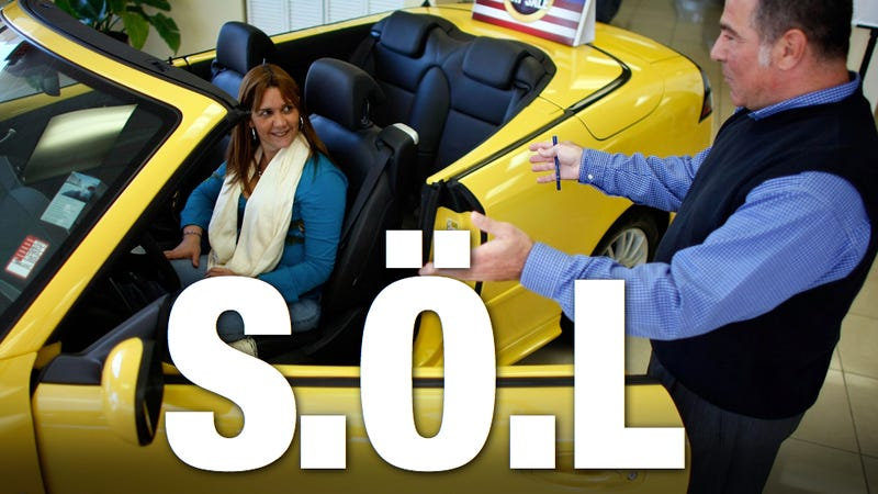 Saab kills all warranty coverage