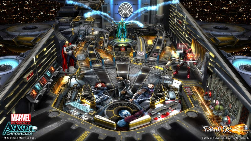 The Avengers Movie Pinball Table Transforms Earth's Mightiest Heroes into Six Shiny Spheres