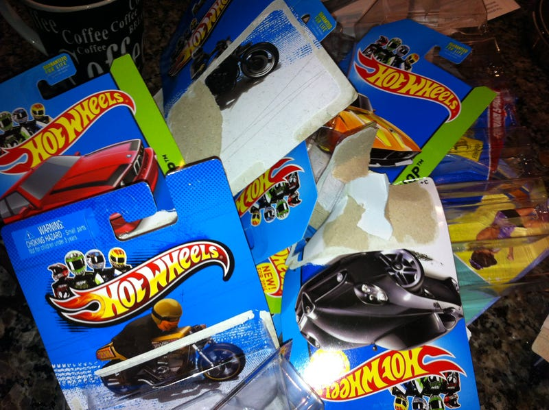 It is true ... I am officially a member of Hot Wheels Anonymous