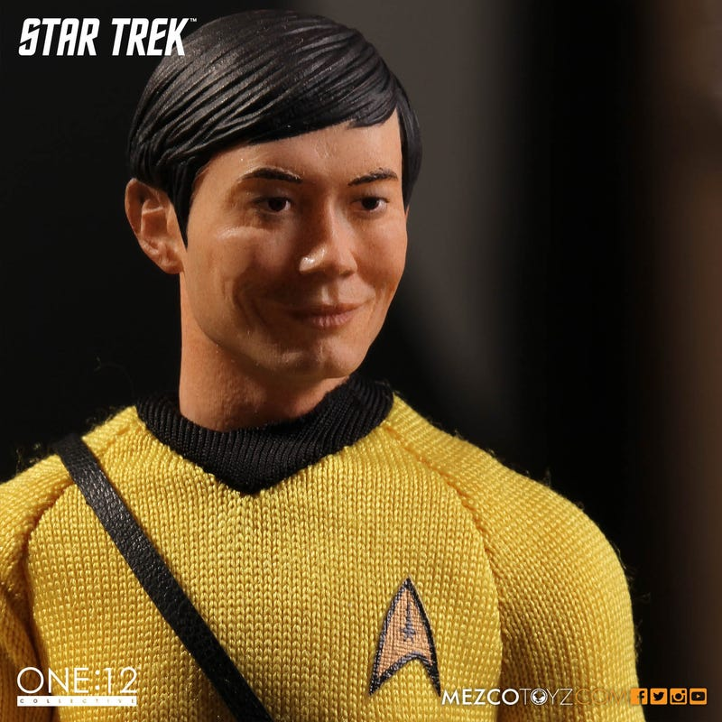 What Happened To Sulu's Face On Mezco's New Star TrekToy?