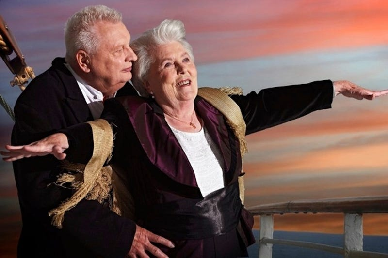 Nursing Home's Calendar Puts Residents in Classic Film Roles