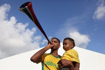 Vuvuzela Ruptures Woman's Throat