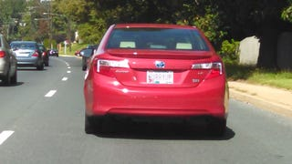 Camry Driver Picks Worse Vanity Plate Ever for a Camry