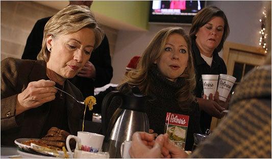 Hillary's Lust for Boca Burgers