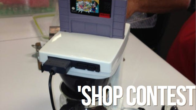 'Shop Contest: Kitchen-Aided Consoles