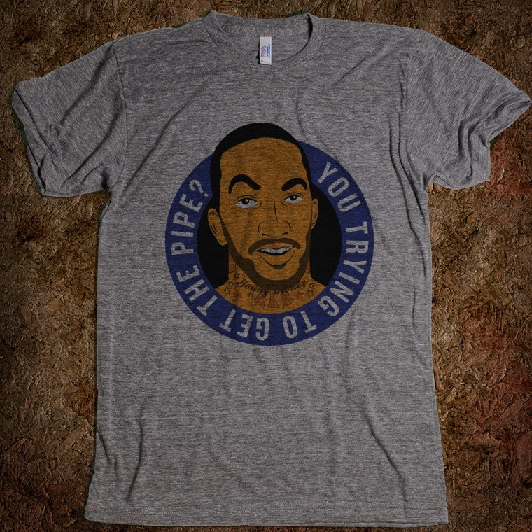 J.R. Smith's Twitter Come-On Has Been Immortalized On A T-Shirt