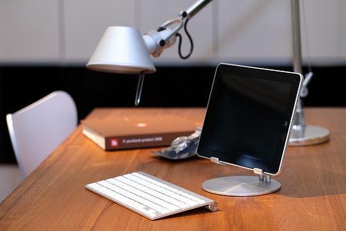 An iPad Stand That Turns The iPad Into A Mini Monitor