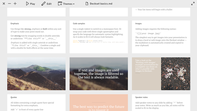 Deckset Creates Great Looking Presentations from Any Markdown File
