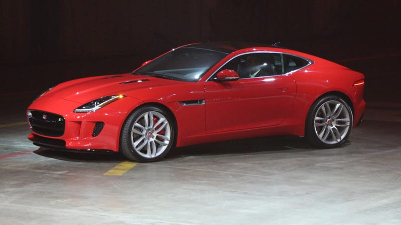 The Jaguar F-Type Coupe Makes Me Ache Deep Inside In A Good Way