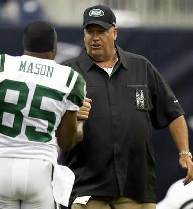 Rex Ryan Responds To Reports Of Wide Receiver Mutiny