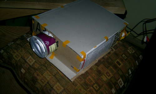 Make Your Own DIY Projector Out of Cereal Boxes