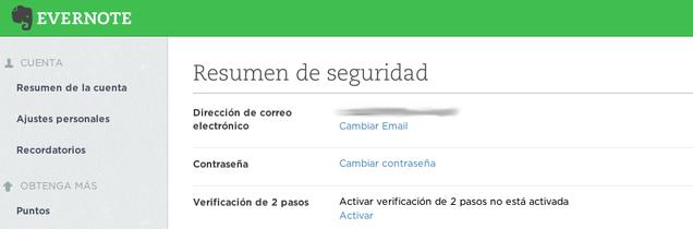 Cómo activar la verificación en dos pasos en servicios online