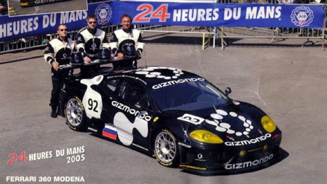 Before he crashed his Enzo, Stefan Eriksson raced a Ferrari 360 at Le Mans
