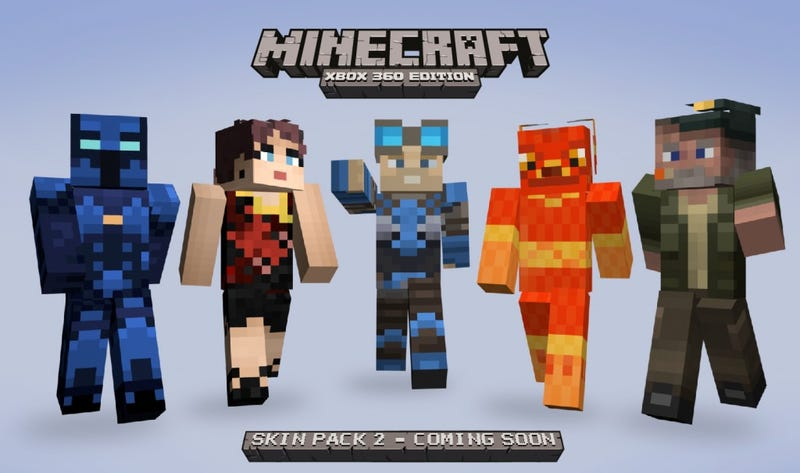Without Peeking, Can You Name These Five Minecraft-ized Xbox Heroes?