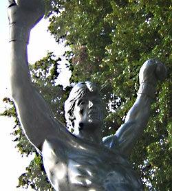 Rocky Statue: Target Of Penguin Terrorist Plot?