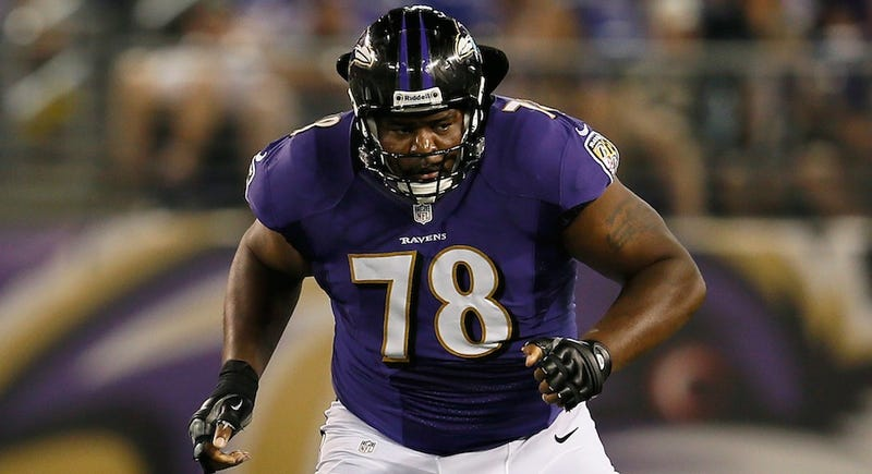 The Ravens Are Fighting With Their Own Left Tackle On Twitter Only Six Days Before Their Opener