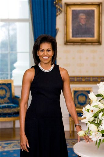 Michelle Obama's Official White House Portrait Is Unveiled