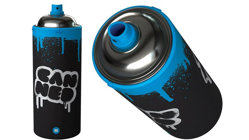 Be the Banksy of Beverages With a Spray Can Water Bottle