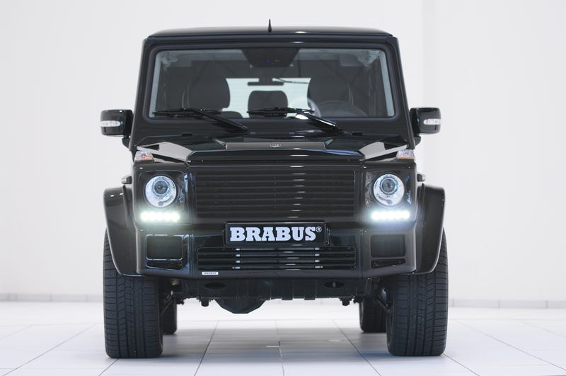 BRABUS G V12 S Biturbo: World's Most Powerful Consumer Off-Road Vehicle