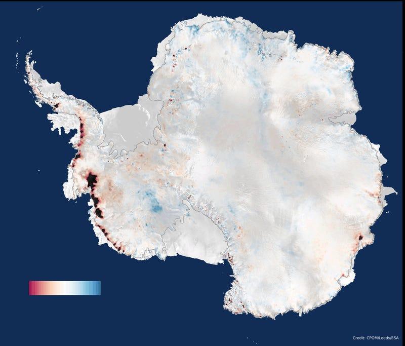 We're Losing 159 Billion Tons Of Antarctic Ice Per Year