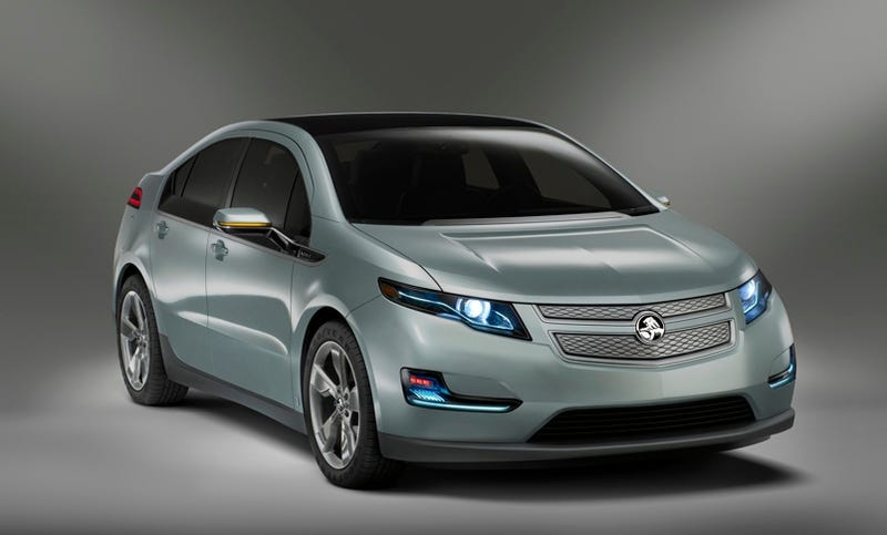 2012 Holden Volt: Electricity Goes On Walkabout