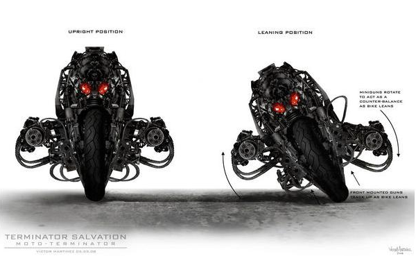 Terminator Salvation to Be Full of Gritty Mechas, Bikebots