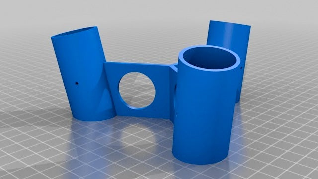 A Simple 3D-Printed Plastic Adapter Turns Anything Into a Stool