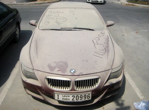What Would You Write On The World's Dirtiest BMW M6?