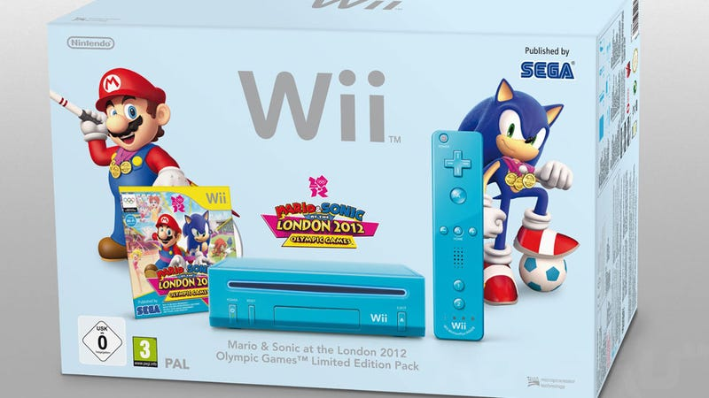 First Look at the Blue Nintendo Wii