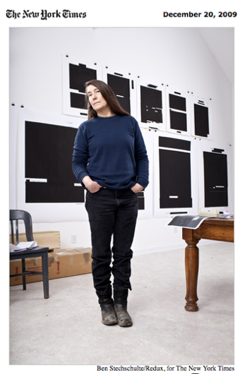 Artistic Endevors: Jenny Holzer On Writing, Law & Order And Pizza