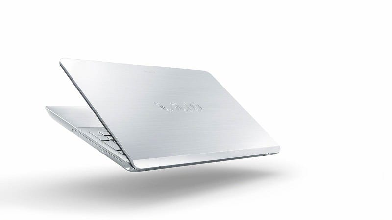 Sony's New Cheap Laptops Are Actually Kind of Beautiful