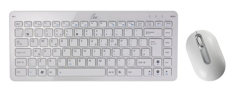 Asus EEE-branded Wireless Keyboard and Mouse Look Surprisingly Stylish