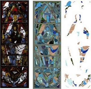 Physicists help discover medieval art hidden beneath old plaster